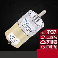 Zga37rg DC 12v 24v Zylinder Form PERMANENTMAGNET GETRIEBEMOTOR Do it yourself Roboter