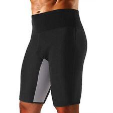 Men's Gym Sweat Sauna Body Shaper Pants Compression Slim Yoga Shorts Underwear
