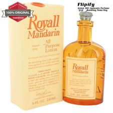 Royall Mandarin 8 oz 4 oz All Purpose Lotion / Cologne by Royall Fragrances