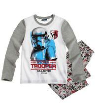 Star Wars Pyjama Schlafanzug Storm Tropper grau 116 128 140  NEU