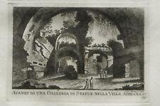 ROMA:Gallria di Statue Villa ADRIANA_Inc/Rame.Brun.1795