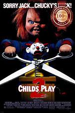 NEW CHILDS PLAY 2 TWO II MOVIE FILM 1990 ORIGINAL ART PHOTO PRINT PREMIUM POSTER