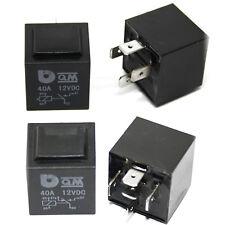 2x Relais - QM 40A 12VDC 4 5 polig - Blinker Blinkerrelais Flasher 3 4 Polig 12V