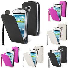 Schutz Hülle für Samsung Galaxy S3 mini i8190 Eingabestift Handy Flip Case Etui