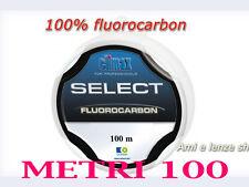 filo fluorocarbon 100% M100 terminali surfcasting ami legati pesca roubaisienne