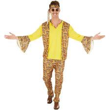 Herrenkostüm Discostar Kostüm Männer Karneval Fasching Halloween 70er Hippie