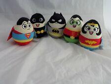 DC Super Heroes 14cm Egg Wobble Soft Toy Official DC Comics Plush Car Dash? NEW