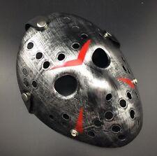Halloween Cosplay Creepy Mask Jason Voorhees Scary Mask Prop Hockey