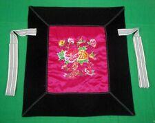 Flowery Mei Tai Baby Carrier 100% Handmade Art Front Back Sling Wrap Podaegi 103