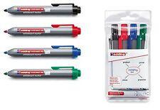 EDDING RETRACT 12 whiteboardmarker 1,5-3mm colore a scelta o come 4er Set