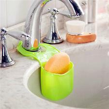 Cuisine salle de bain évier éponge titulaire hanging passoire organisateur boîte de rangement rack