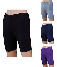 Chex Baumwolle Lycra Hotpants Premium Ladies Keep Fit Fitness Sport Dance Short