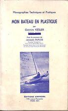Gaston KESLER - Mon bateau en plastique - 1959