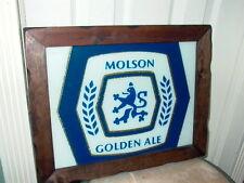 Molson Golden Ale Beer Sign