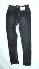 John Baner Damen Stretch-Jeans Skinny Hose Chino Gr. 34 R (W27/L32)