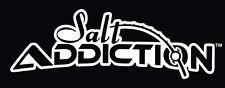 Salt Addiction Logo Decal,Flats fishing,offshore,reel,life,rod,marlin,snook
