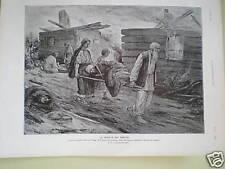WW1 La Charite Des Simples Korab-Mercere print 1915