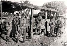 Rhodesian Light Infantry Soldiers RLI B&W  Photo FN FAL