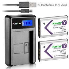Kastar Battery Charger for Nikon EN-EL11 MH-64 Pentax DLI-78 Sanyo DB-L70