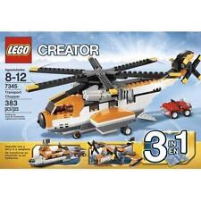 Lego Creator Transport Chopper 7345  - New in Sealed Box!