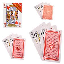 Jumbo Giant Gigantic Jumbo Extra Large Playing Cards 28cm 11 inch A4