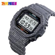 SKMEI Fashion Sport Wristwatch Mens Waterproof LED Digital Military Watch 1471