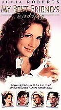 My Best Friend's Wedding New VHS Julia Roberts, Cameron Diaz