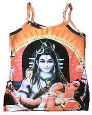 Lord SHIVA & PARVATI Hindu Karma Goa DJane Tattoo Art Designer TOP SHIRT XS/S