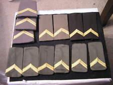 Royal Netherlands Shoulder Rank,Gold Chevron(lot of 13)