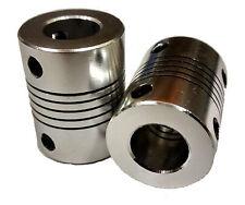 5x10mm Motorwelle Koppler ideal für 3D drucker stiele, Reprap, CNC 5mm to 10mm
