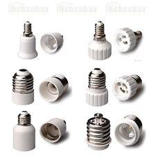Lampe Fassung Lampensockel Adapter Adaptersockel LED Konverter E14 E27 GU10 E40