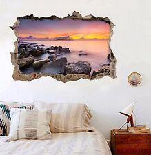 3D Sunset Sea 161 Wall Murals Wall Stickers Decal Breakthrough AJ WALLPAPER AU