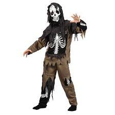 NEW Kids Rotten Skeleton Zombie - Halloween Costume Children Wicked Fancy Dress