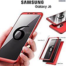 COVER per Samsung Galaxy J6 2018 Fronte Retro 360° ORIGINALE Protezione Totale