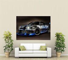 Nissan Skyline  Giant 1 Piece  Wall Art Poster VE106