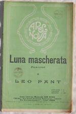 LEO PANT LUNA MASCHERATA FOX TROT MUSICA SPARTITI 1930