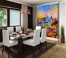 3D Garten Villa 78 Tapete Wandgemälde Tapete Tapeten Bild Familie DE Summer