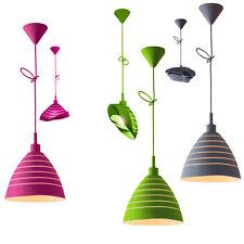 Pendelleuchte, Deckenlampe, Decken, Leuchten Hängelampe farbig Licht Beleuchtung