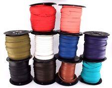 "Deertan Deer Leather Lace Spool 3/8"" 10MM x 50 FT DIY Craft Supplies Cord String"