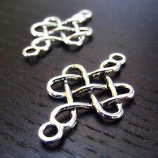 5 Or 10PCs Celtic Knot 33mm Wholesale Antiqued Silver Plated Pendants C9216-2
