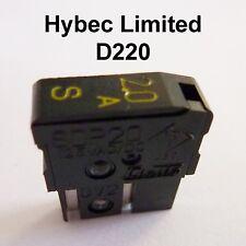 SDP Range Daito Alarm Fuse 1a - 7.5a Time Lag Black