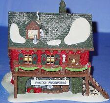 DEPT 56 Santa's Woodworks North Pole Series