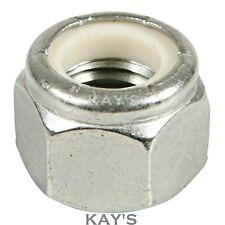 Aerotight tutti in metallo Self Dadi Di Bloccaggio A2 acciaio inox dimensioni metriche M3-M24