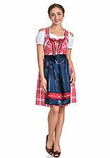 Spieth & Wensky Damen Kleid Mini-Dirndl Schnürung 2-teilig