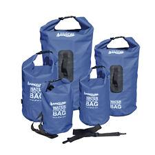 Dry Bag Packsack Seesack Marinesack Rollbeutel wasserdicht PVC Navyline blau