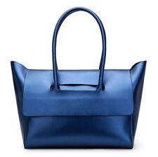 New Women Genuine Cow Leather Shoulder Bag Handbag Shop Bag +inside Bag Large