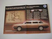advertising Pubblicità 1981 LANCIA GAMMA