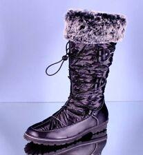 Damen Thermo Schneestiefel Fell Stiefel Winterstiefel Schnee Boots Profilsohle