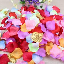 Mix Colour Rose Silk Petals Flower Confetti Wedding Engagement Celebrations
