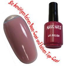 UV Polish Gel Soak Off Gel Polishgel Nail Art Nagellack Farbe # Baby Rose